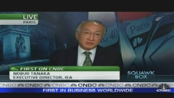 Tanaka Says IEA 'Filling the Gap'