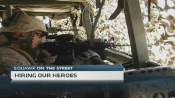 Veterans on Wall Street