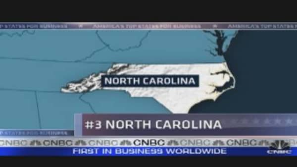 Top State Countdown: North Carolina