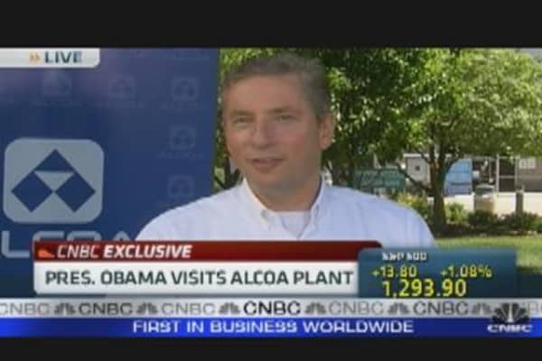 President Obama's Alcoa Visit