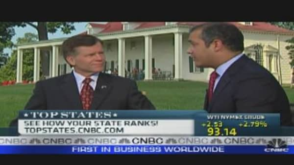 Top State for Business: Virginia