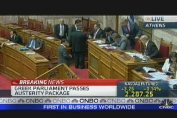 Greek Parliament Passes Austerity Package