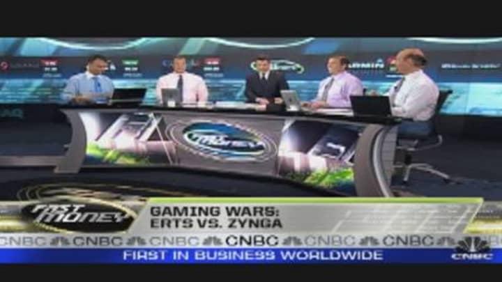 Gaming Wars: ERTS vs  Zynga