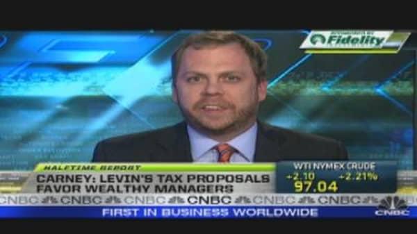 Hedge Fund Tax Proposal
