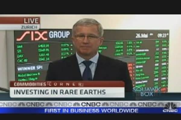 Investing in Rare Earths
