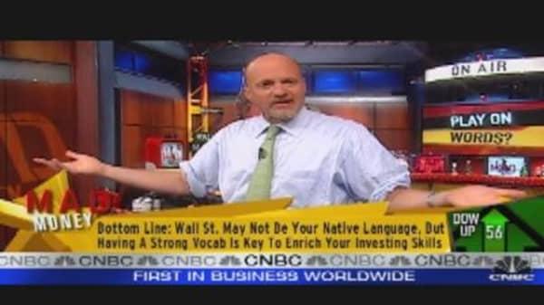 Cramer's Brand of Market Wisdom
