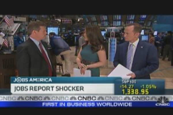 Employment Report Shocker