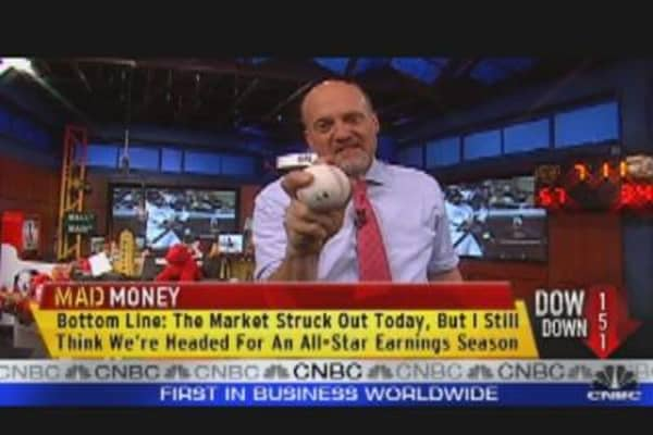 Cramer's Bearish Market Outlook