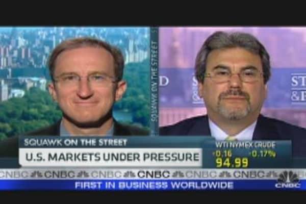 U.S. Markets Under Pressure