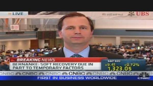 Bernanke Testimony: Fed Will Step In