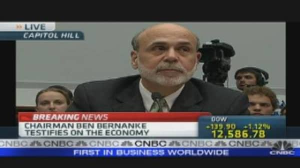 Bernanke Testimony