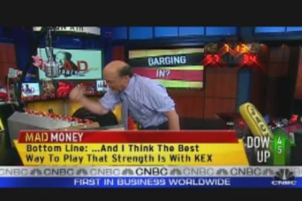 Cramer Gets Bullish on KEX