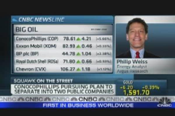ConocoPhillips Pursuing Company Split