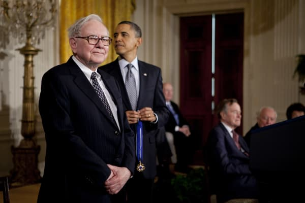 Warren Buffett, Barack Obama