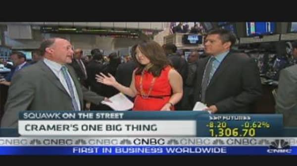 Cramer's One Big Thing: Gold