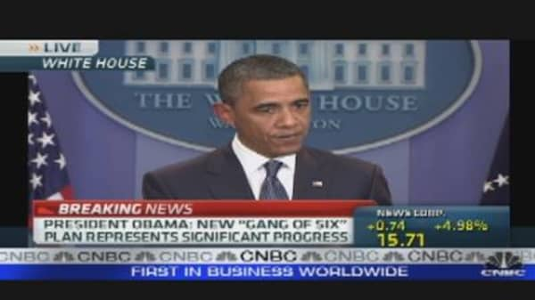 President Obama Speaks on Debt Talks