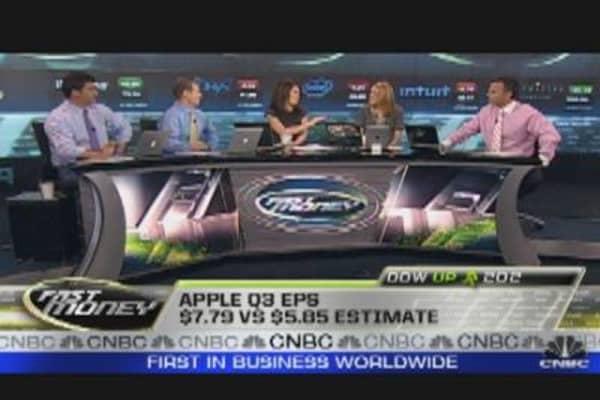 Apple Breaks $400