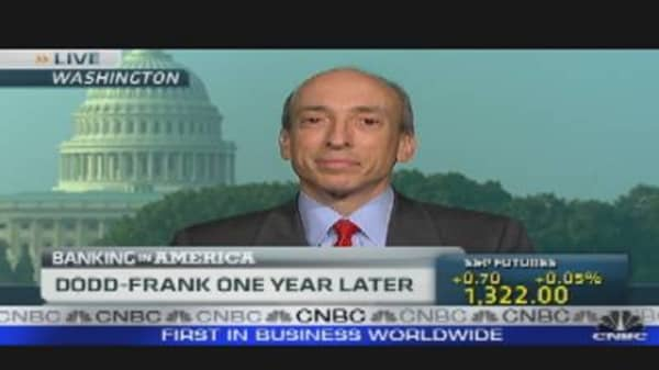 Dodd-Frank One Year Later