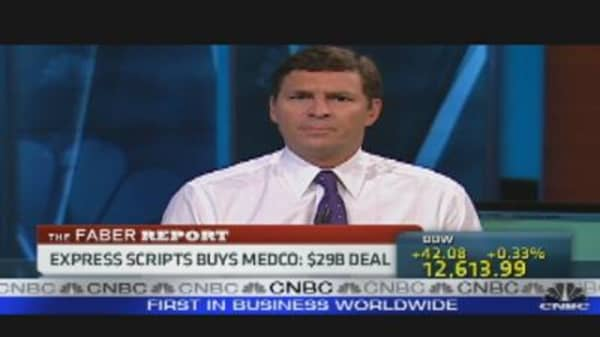 Faber Report: Express Scripts Buys Medco
