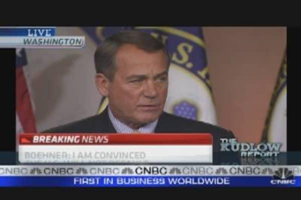 Boehner Presser on Broken Debt Talks