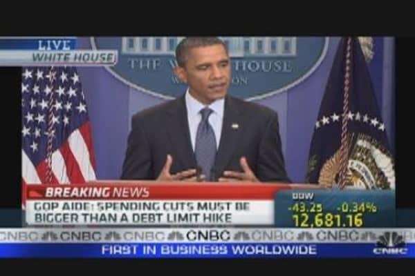 President Obama on Debt Deal