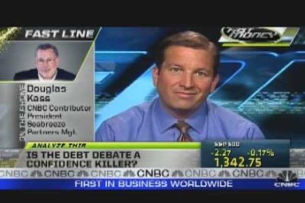 Is Debt Debate a Confidence Killer?