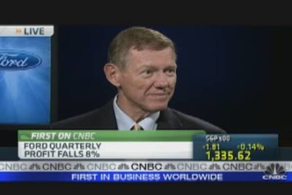 Ford CEO Talks Earnings & Sales