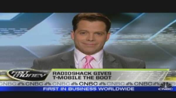 Radioshack Dumps T-Mobile