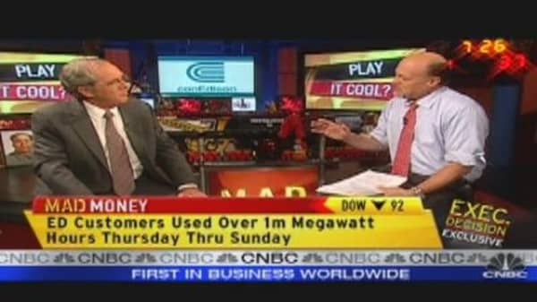 Play Con Ed? Cramer Says Yes