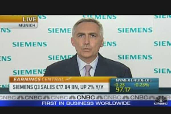 Global Recovery is Over: Siemens CEO