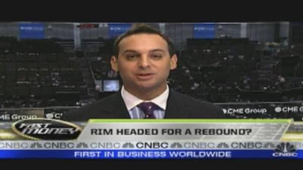 RIM on Rebound & MasterCard