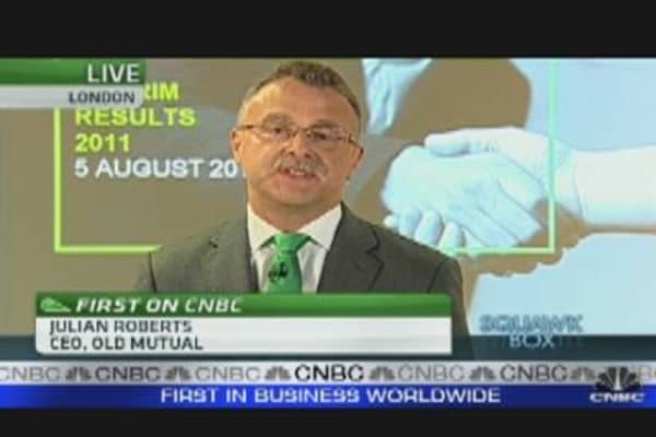 Old Mutual CEO: Lack of Confidence Causing Panic