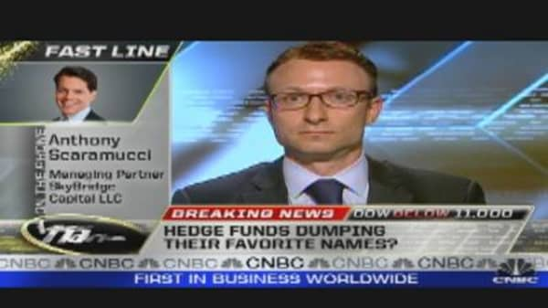 Hedge Funds Dumping Favorites?