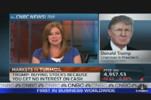 Donald Trump Reacts to Markets