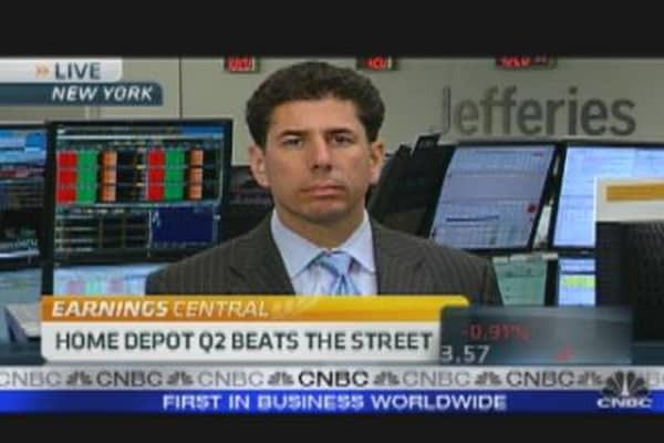 Home Depot Q2 Beats the Street