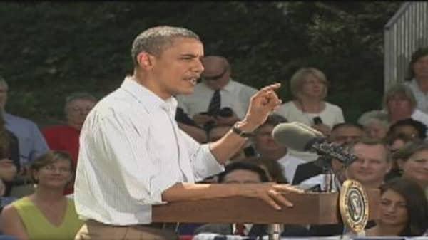 President Obama on Buffett's Op-Ed