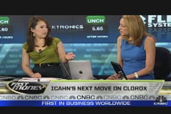 Icahn's Next Move on Clorox