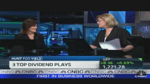 Three Top Dividend Plays