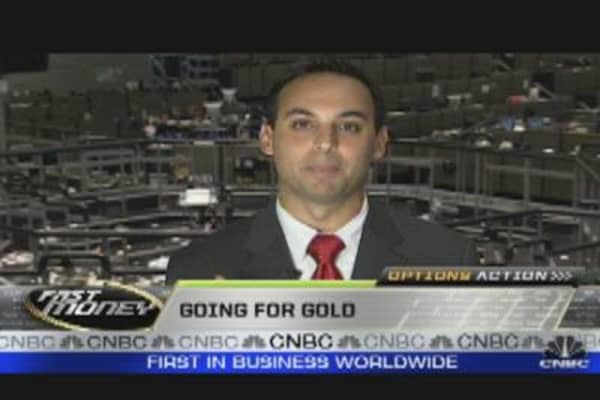 Options Action: The Gold Trade.