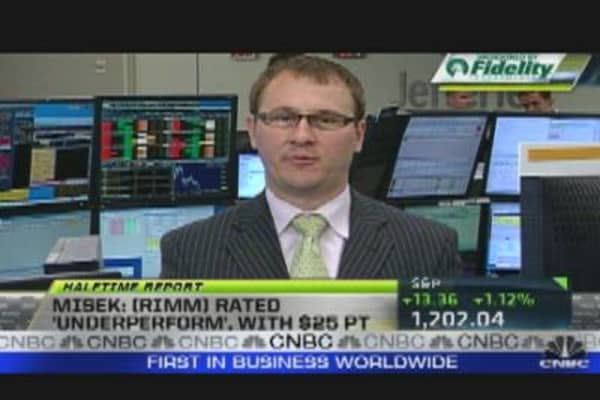 The Next Trade: WMT, RIMM