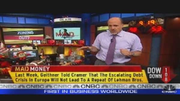 Cramer on Market Volatility