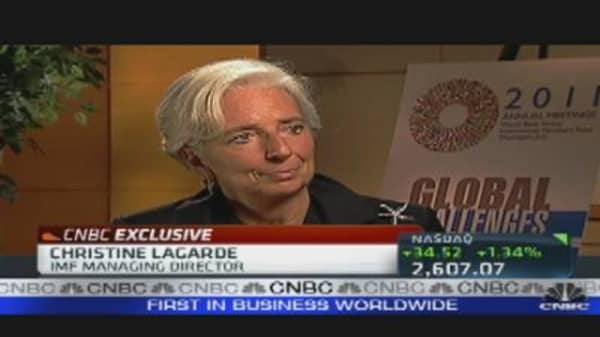 Lagarde Speaks Out