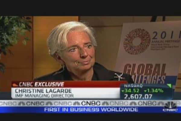 Lagarde Speaks Out