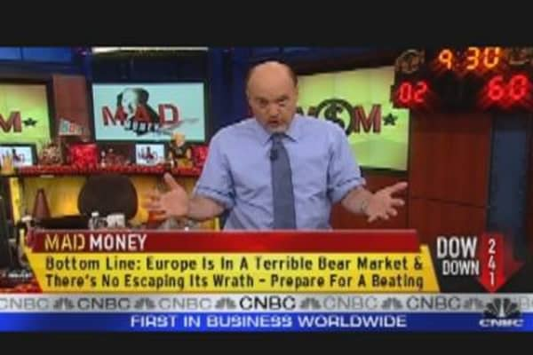 Cramer: U.S. Markets and Europe