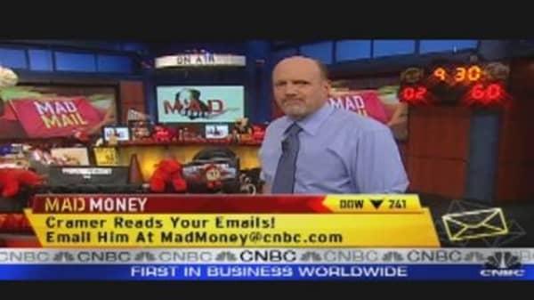 Cramer Answers Viewer Mail