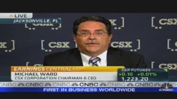 CSX CEO on Q3 Earnings