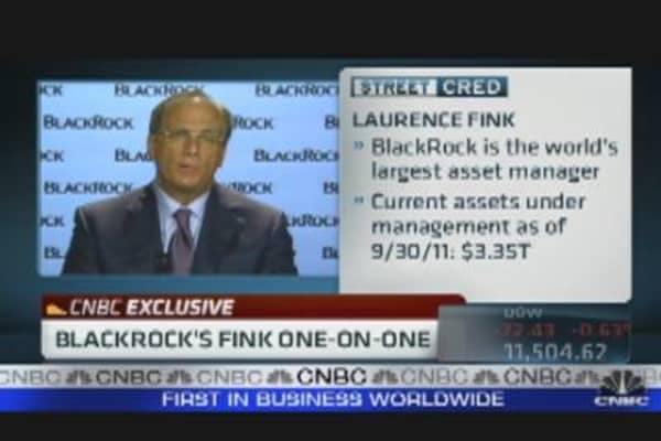 BlackRock's Fink One-on-One