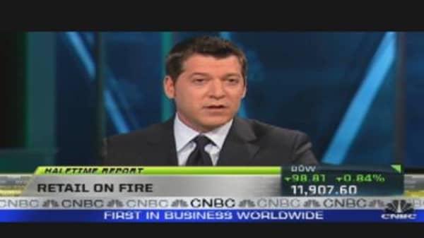 Retail Stocks on Fire