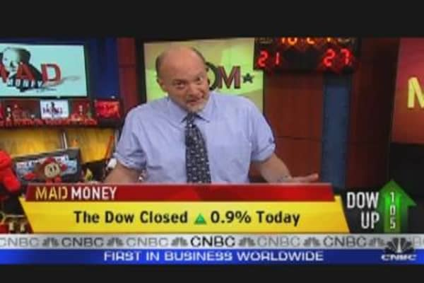Cramer: Earnings Matter, Not Europe