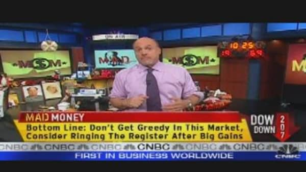 Mad Money Markets: Time to Sell?